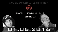 BATTLEMANIA  + BMCL: GUGO vs FINCH Logo
