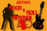 Sherwood High School Rock and Roll Revival 46 Logo