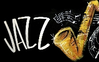 Cocktail Party - 40s Music | Relaxing Jazz Instrumental Dinner Party, Logo