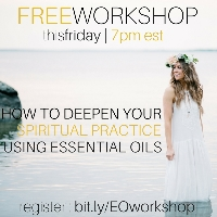 Deepen Your Spiritual Practice Using Essential Oils Logo
