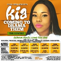 Kia Come to Drama Them! Logo