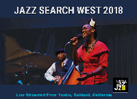Jazz Search 2018 Finals at Yoshis - Tuesday April 24. 8PM (PDT) Logo