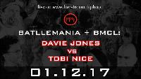 RapAmMittwoch: Battlemania + BMCL: Davie Jones vs Tobi Nice Logo