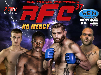 RFC 37 MMA LIVE! July 22nd 2016 Starts at 8PM Sharp Logo