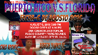 Puerto Rico VS Florida LIVE! August 6 2nd 2016 Starts at 5PM Sharp Logo