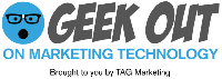 GEEKOUT on Marketing Technology Logo