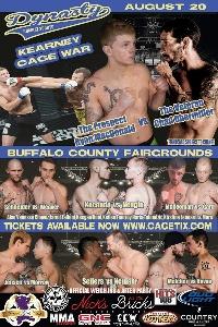 Dynasty Combat Sports Kearney Cage Wars Logo