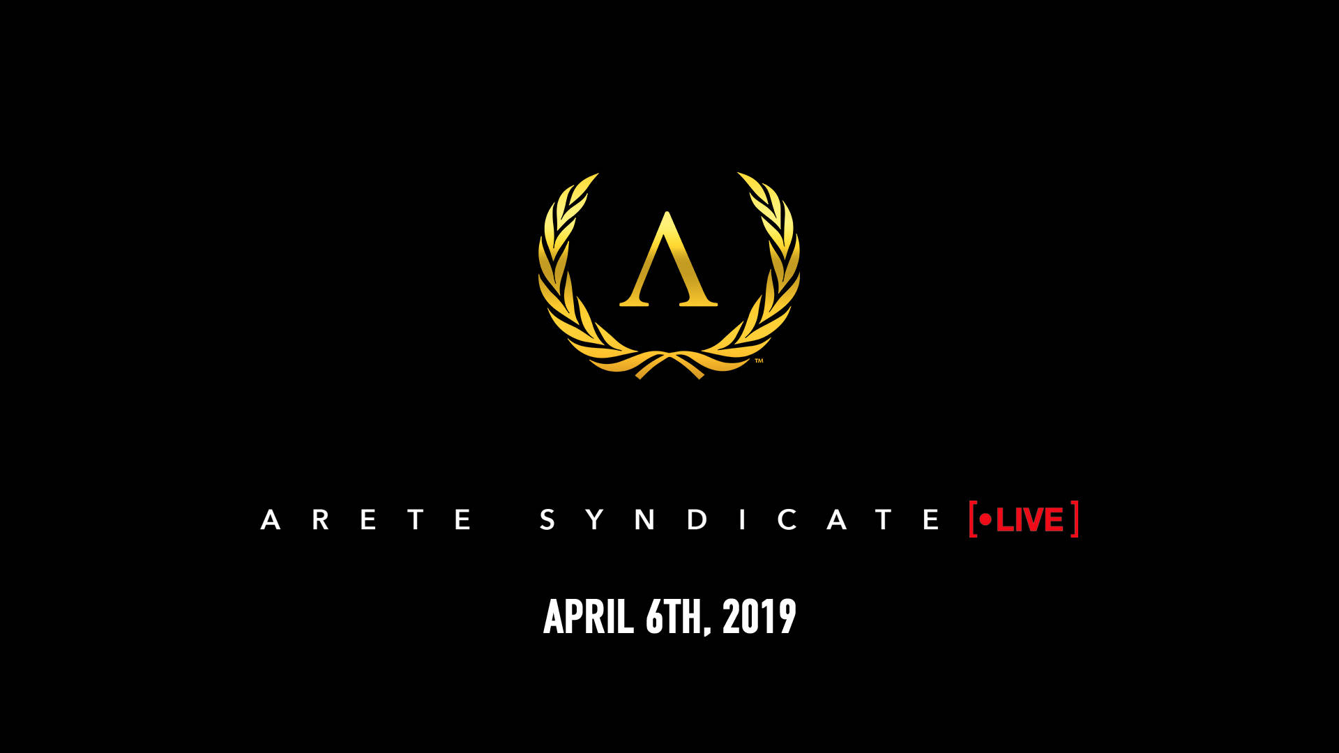 Arete Syndicate Live (REPLAY)