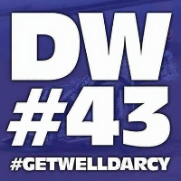 Darcy Ward Charity Event #DW43 Logo