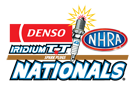 DENSO Spark Plugs NHRA Nationals, Las Vegas, NV - Saturday Logo