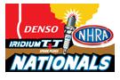 DENSO Spark Plugs NHRA Nationals, Las Vegas, NV - Sunday Logo