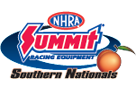 Summit Racing NHRA Southern Nationals, Atlanta, GA - Sunday Logo