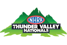 NHRA Thunder Valley Nationals, Bristol Dragway, Bristol, TN - Sunday Logo