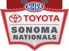 NHRA Toyota Sonoma Nationals, Sonoma Raceway, Sonoma, CA - Friday Logo