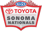 NHRA Toyota Sonoma Nationals, Sonoma Raceway, Sonoma, CA - Saturday Logo