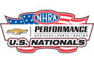 Chevrolet Performance US Nats, Indianapolis - Sunday - AUDIO ONLY Logo