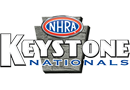 NHRA Keystone Nationals, Maple Grove Raceway, Reading, PA - Saturday Logo