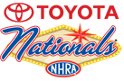 NHRA Toyota Nationals, Las Vegas, NV - Sunday Logo