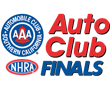 FREE: Auto Club NHRA Finals, Pomona, CA - Thursday: AUDIO Only Logo