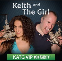 Keith and The Girl VIP night Logo