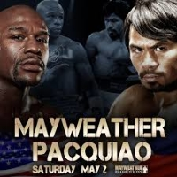 Manny Pacquiao vs Floyd Mayweather Logo
