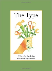 Sarah Kay Presents: The Type (A Book Release Show) Logo