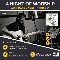 A Night Of Worship with Marc James 'Promise' Logo