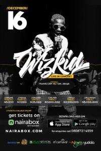 WizKid Live in Concert Logo