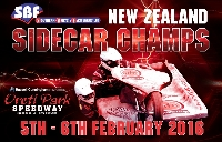 Southern Bolts and Fasteners New Zealand Sidecar Championships Logo
