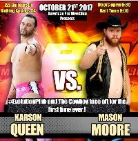 American Pro Wrestling October 21, 2017 Logo