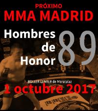MMA - Hombres de Honor 89 desde Madrid Logo