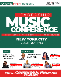Leadership Music Conference Logo