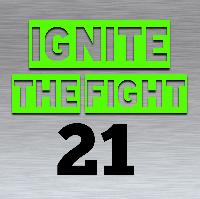 IGNITE THE FIGHT 21 Logo