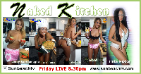 Friday Night 8.30pm Naked Kitchen Guest: Flaka Mexica Logo
