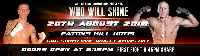 Ace Boxing - 20 August - Who will Shine? Logo