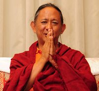 NSS '18 Talk Four with Dzigar Kongtrul Rinpoche with Refuge Vow Logo