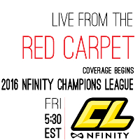 Nfinity Champions League 2016 - Red Carpet Logo
