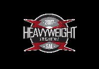 Heavyweight African Boxing Logo