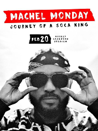 Machel Monday - Journey of a Soca King Logo