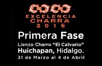 Jueves -Primera Fase del Circuito Excelencia Charra FORD 2016 - GRATIS Logo
