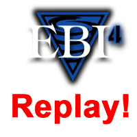 Eddie Bravo Invitational 4 - Replay Logo