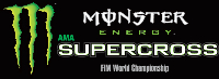 Round #17: Las Vegas, NV 2017 Monster Energy Supercross Live Race Logo