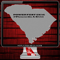 Powerfest 2k16 Allendale South Carolina Logo