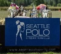 Seattle Polo - August 14th - 1 Day Pass Logo