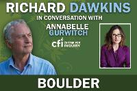 An Evening with Richard Dawkins in Conversation w/ Annabelle Gurwitch Logo