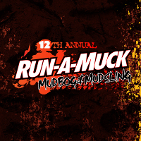 12th Annual Run-A-Muck Mud Logo