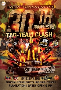 Stonewall's 30th Anniversary Team Tag Clash Logo