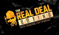 Inaugural Real Deal Championship Boxing Event Logo
