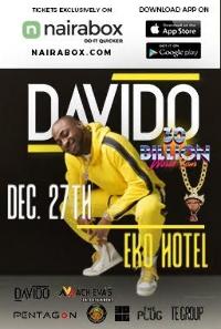 Davido 30 Billion Concert Logo