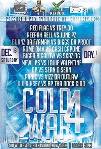 IBATTLE PRESENTS: COLD WAR 4 Logo